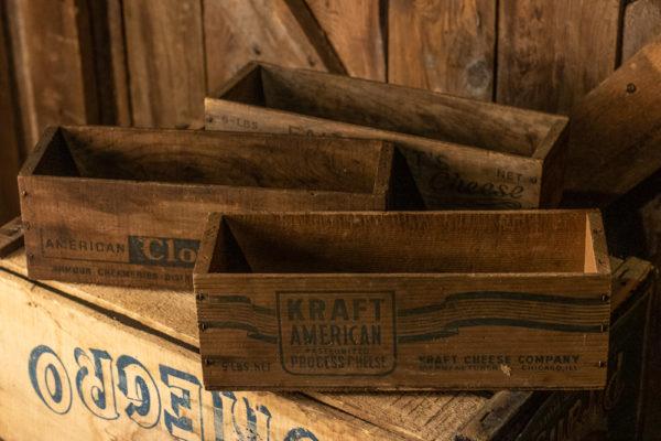 #20 Mini Wood Crates
