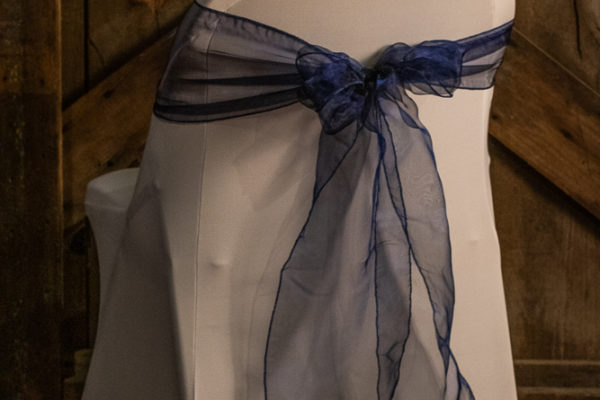 #21 Navy Blue Sashes